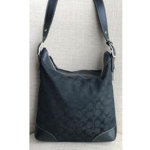 Coach Chelsea Signature & Leather Slim Duffle Bag